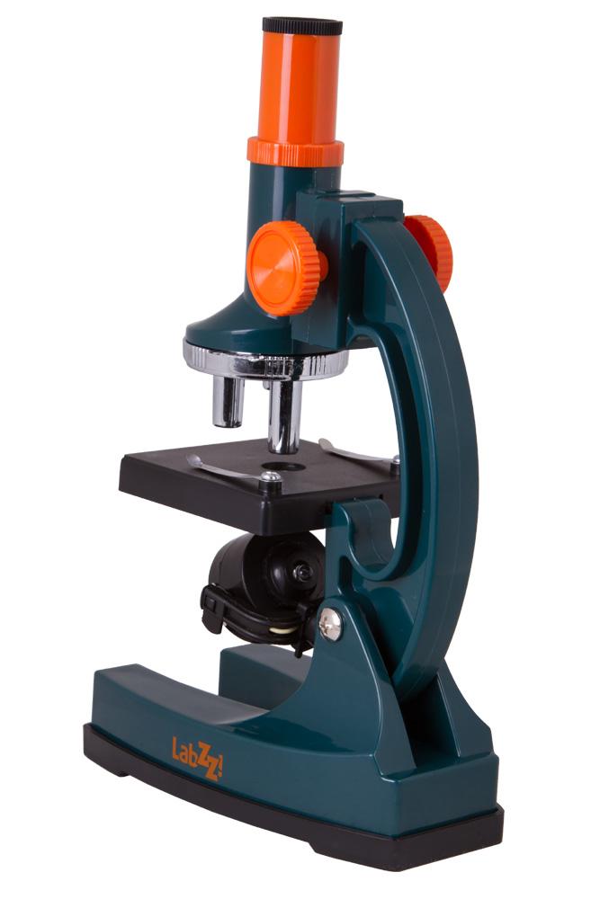 Микроскоп Levenhuk LabZZ M1 (+ Антисептик-спрей для рук в подарок!)
