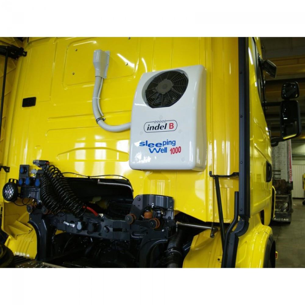 Автономный автомобильный кондиционер Indel B SLEEPING WELL 1000 BACK 24В (+ Антисептик-спрей для рук в подарок!)
