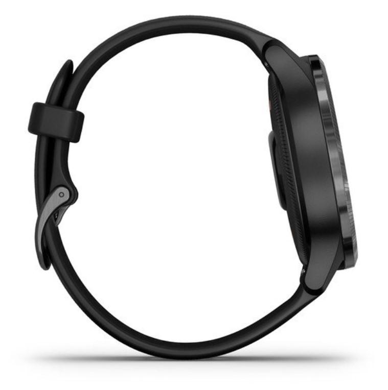 Смарт-часы Garmin Venu черные с серым безелем