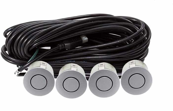 Парктроник модель AAALine LED-14 Silver (+ Антисептик-спрей для рук в подарок!)