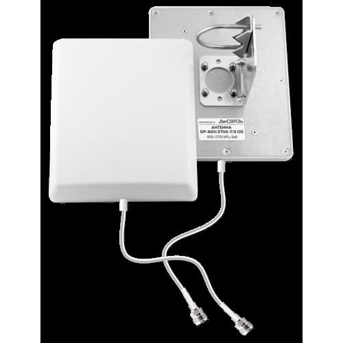 Готовый комплект усиления сотовой связи Далсвязь DS-2100/2600-17С3 (+ Кронштейн в подарок!)