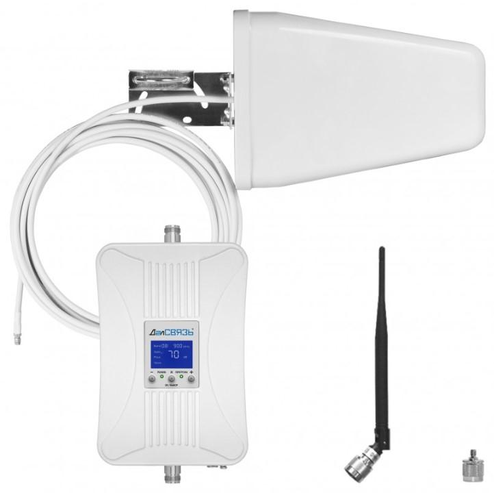Готовый комплект усиления сотовой связи ДалСВЯЗЬ DS-900/1800-17 C1 (+ Кронштейн в подарок!)