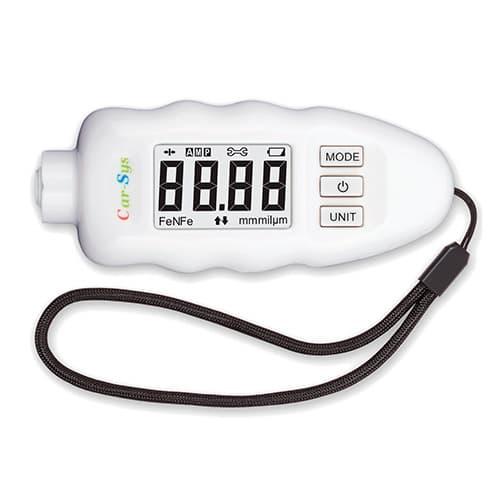 Толщиномер CarSys DPM-816 PRO (Fe/nFe) белый (+ Чехол для толщиномера в подарок!)