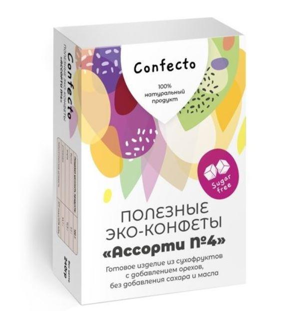 Полезные эко-конфеты «Трюфель», «Инжир и кешью», «Кокос».