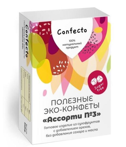 Полезные эко-конфеты «Ассорти №3»
