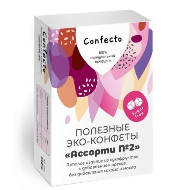 Полезные эко-конфеты «Ассорти №2»