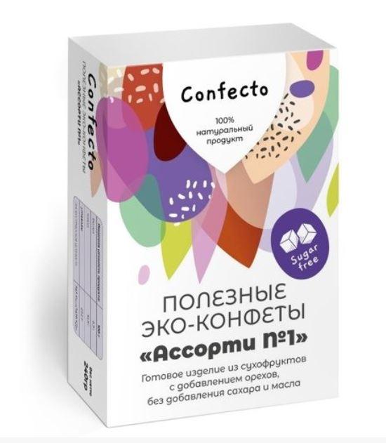 Полезные эко-конфеты «Ассорти №1»