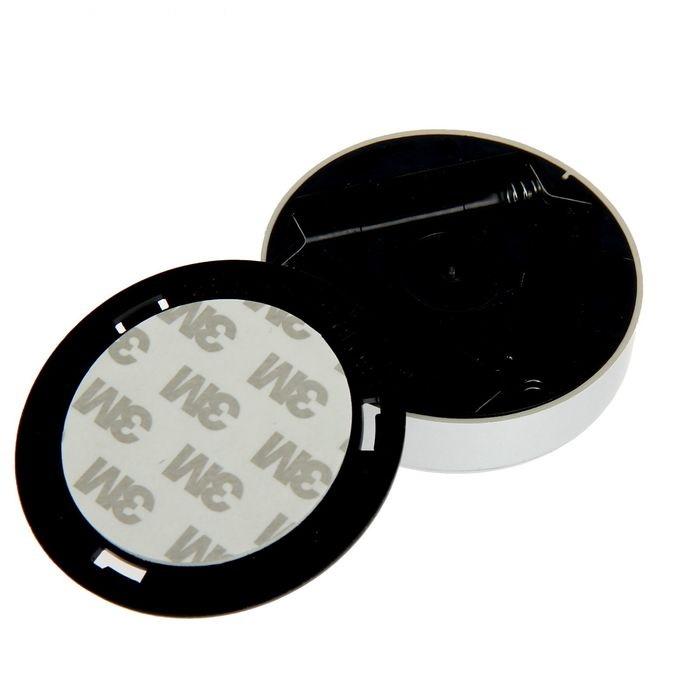Светильник-таблетка пушлайт светодиодный серебристый, 4 LED