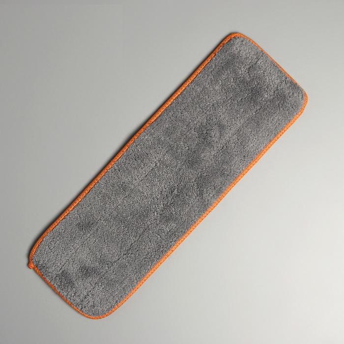Насадка для плоской швабры 3010 см, микрофибра (на швабру F-7305)