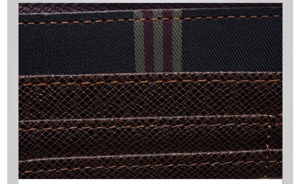 Мужской клатч портмоне 3 в 1 Pidanlu Top Тёмно-Синий