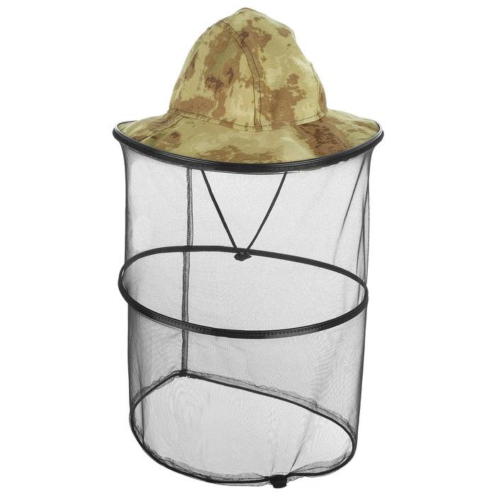 Антимоскитная камуфляжная шляпа Накомарник Панама