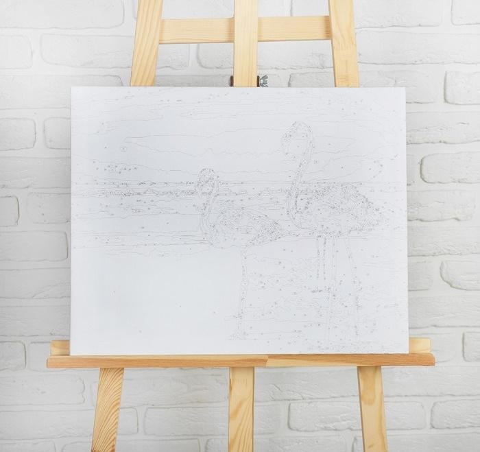Картина по номерам «В паре» 40х50 см