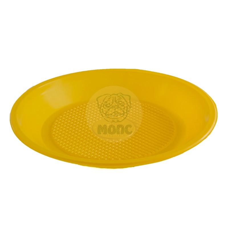 тарелка десертная d200 желтая 100/1800