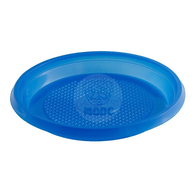 тарелка десертная d165 синяя 100/2400
