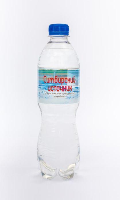 Вода питьевая артезианская газированная