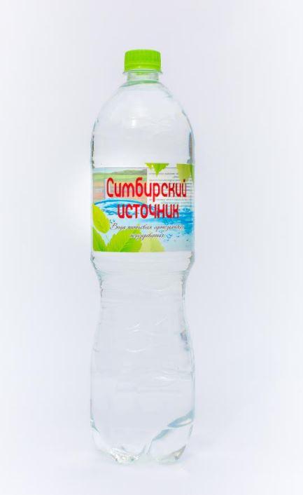 Вода питьевая артезианская негазированная