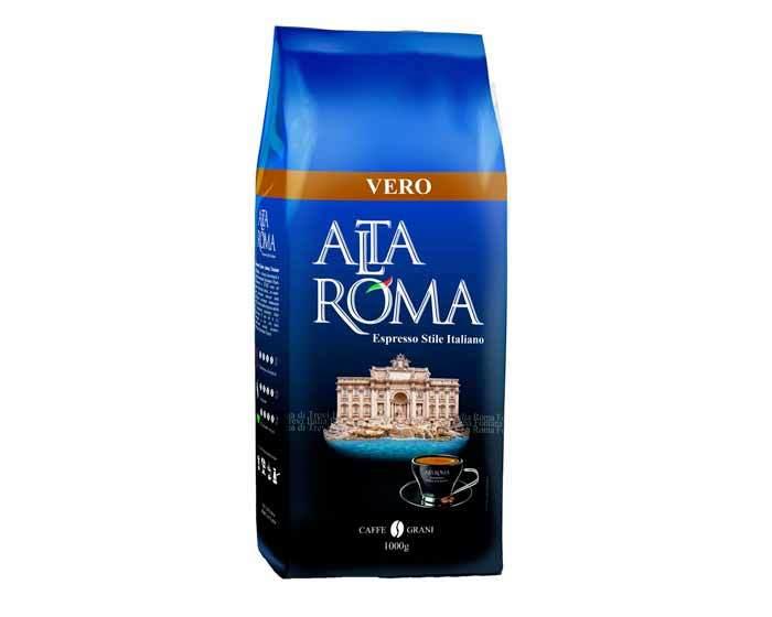 Кофе в зернах Alta Roma Vero, 1 кг (Альта Рома)