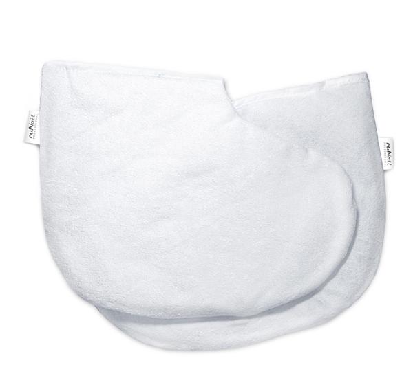 Валенки косметические (белые), 2 шт №1472