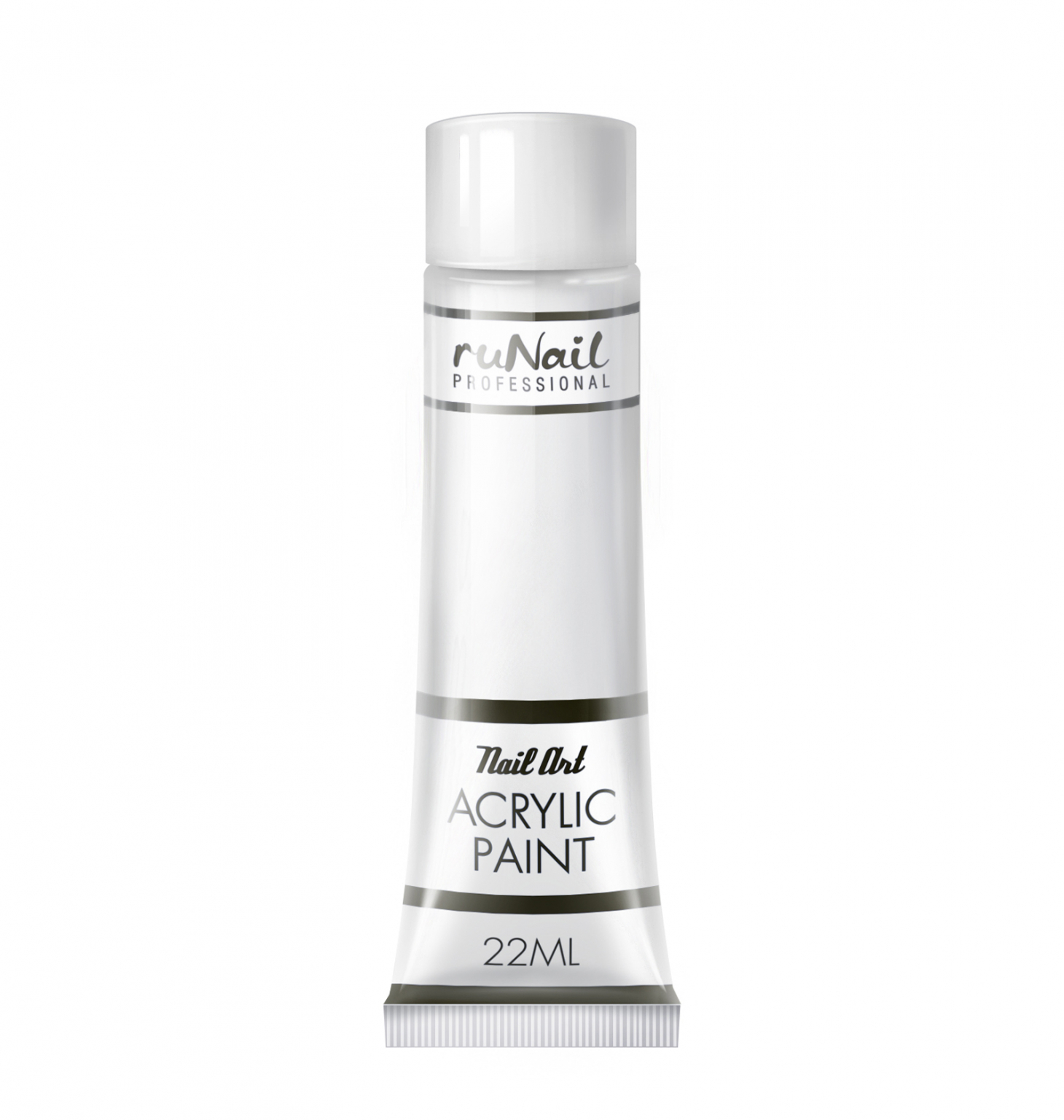 Акриловая краска для нейл-арт (цвет: белый), 22 мл, №2294