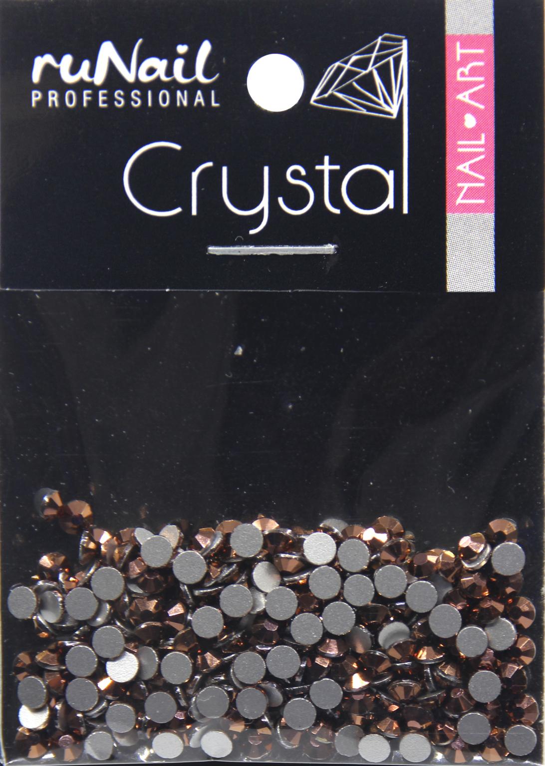 Дизайн для ногтей: стразы (цвет: розовое золото, 2,3 мм), 288 шт, № 4131