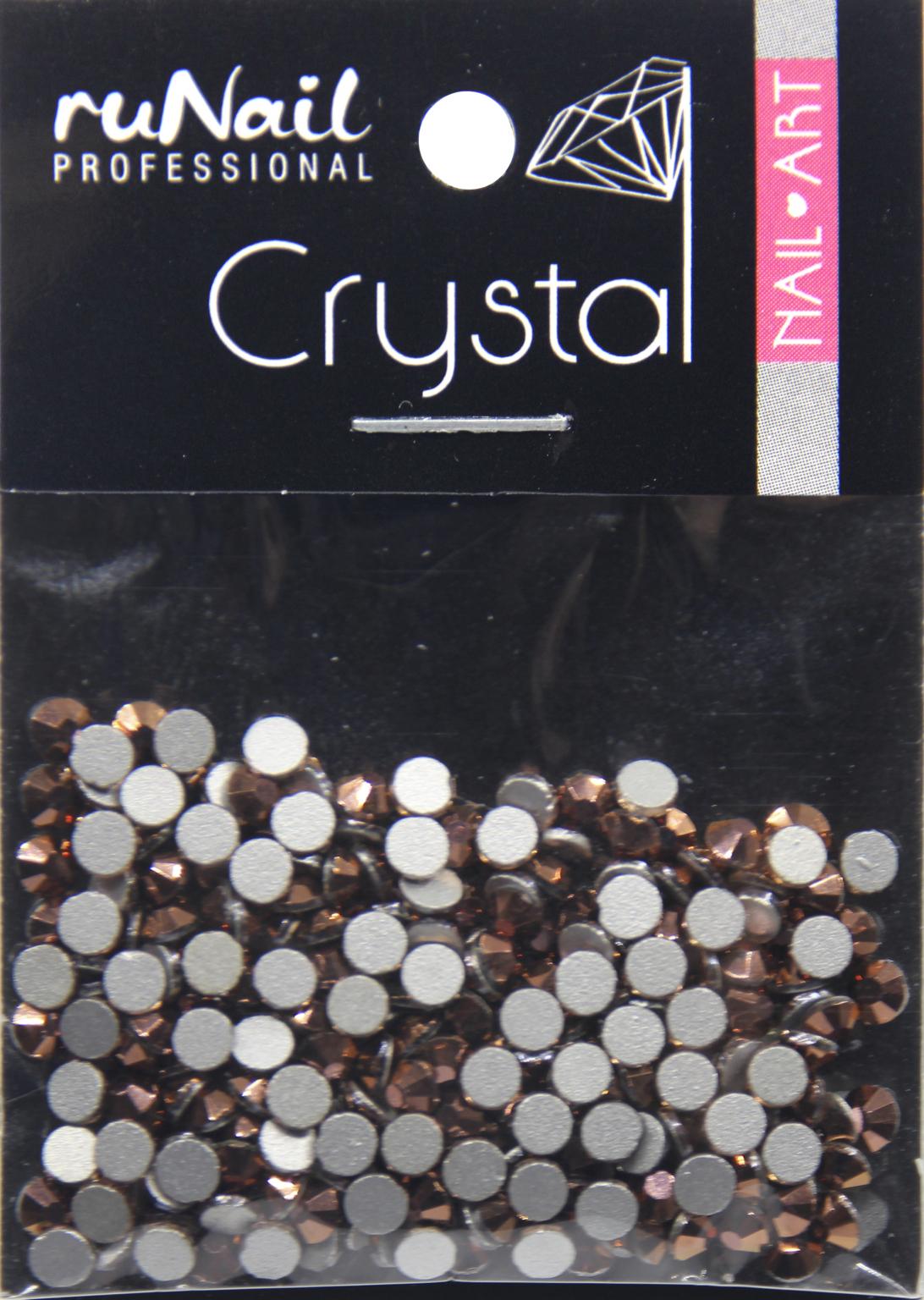 Дизайн для ногтей: стразы (цвет: розовое золото, 2,7 мм), 288 шт, № 4132