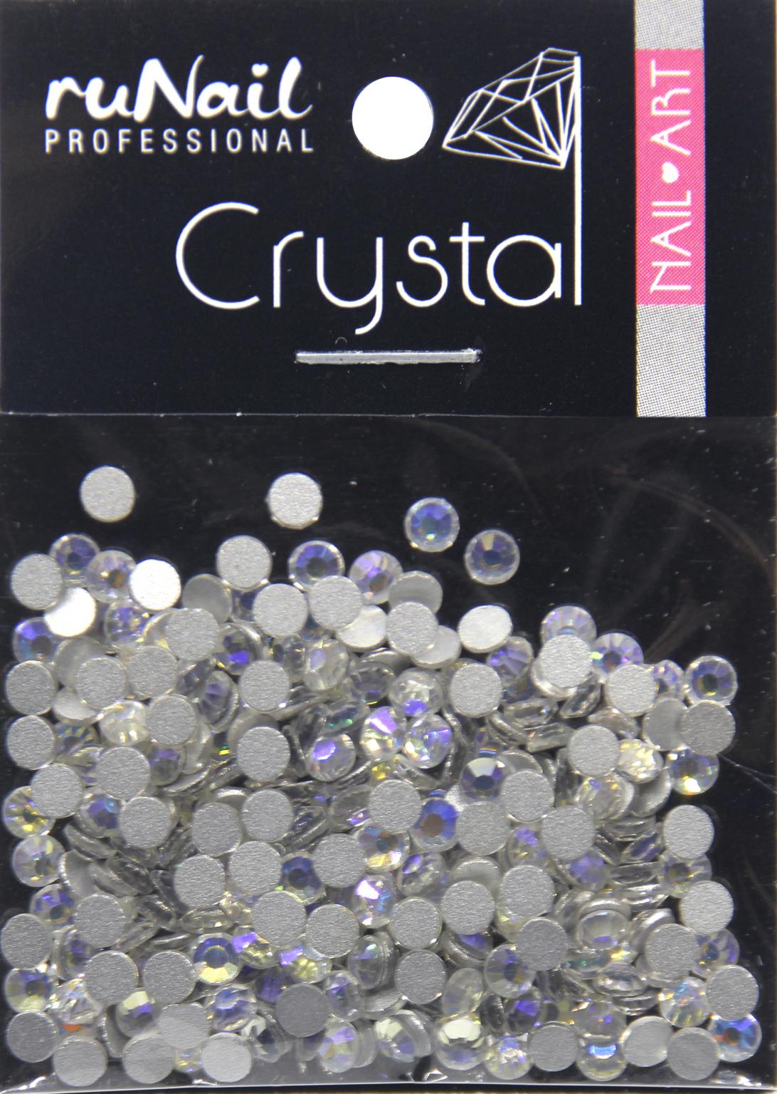 Дизайн для ногтей: стразы (цвет: голографический, золотисто-фиолетовый, 2,7 мм), 288 шт, № 4146