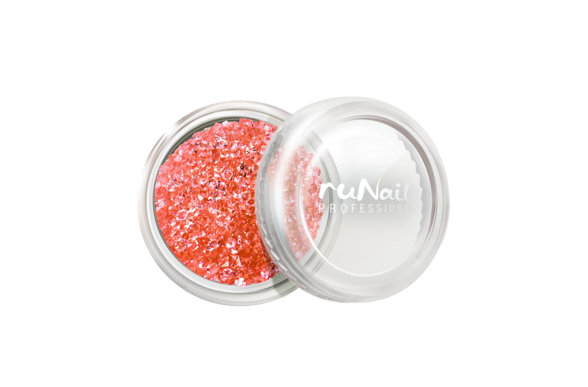 Дизайн для ногтей: пикси (цвет: красный) № 3287
