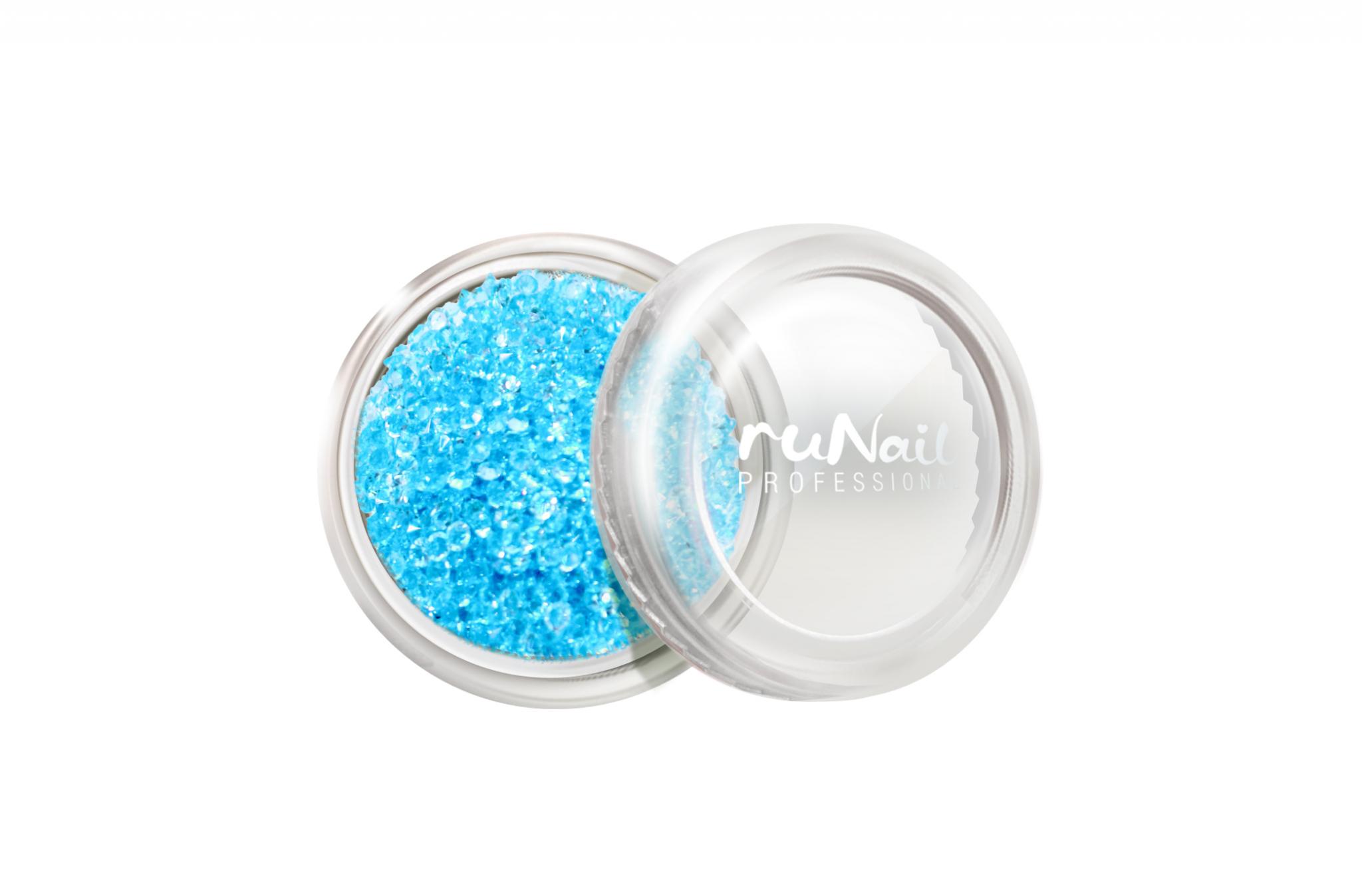 Дизайн для ногтей: пикси (цвет: голубой) № 3288