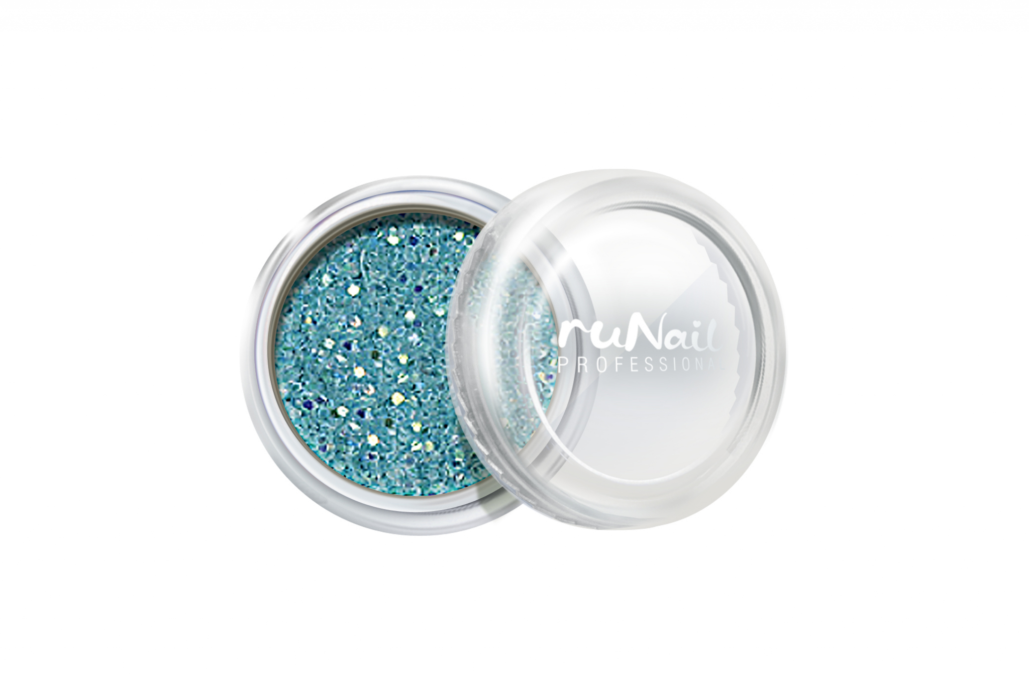 Дизайн для ногтей: блестки (цвет: голубой) № 0303