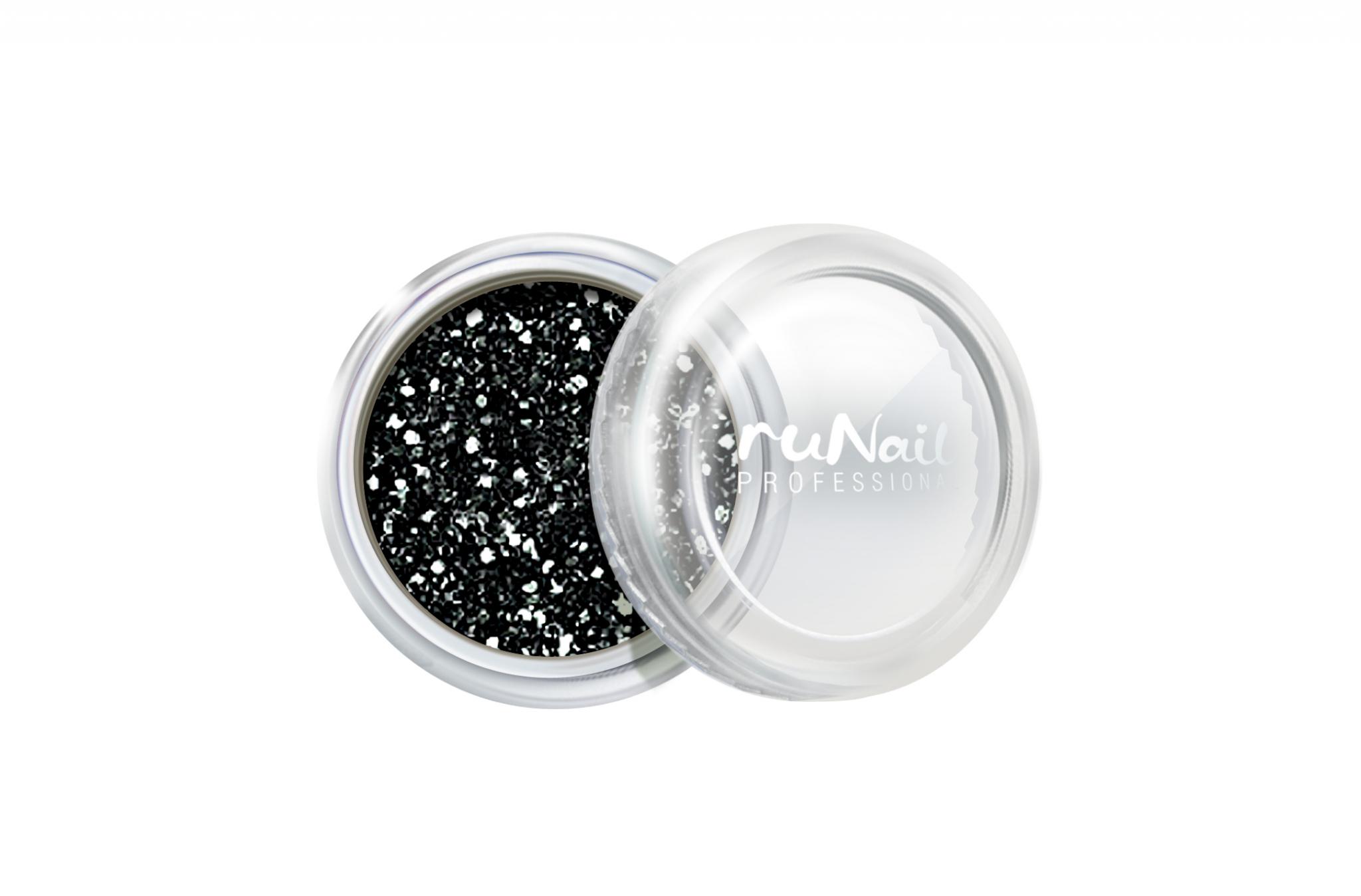 Дизайн для ногтей: блестки (цвет: графита) № 0639