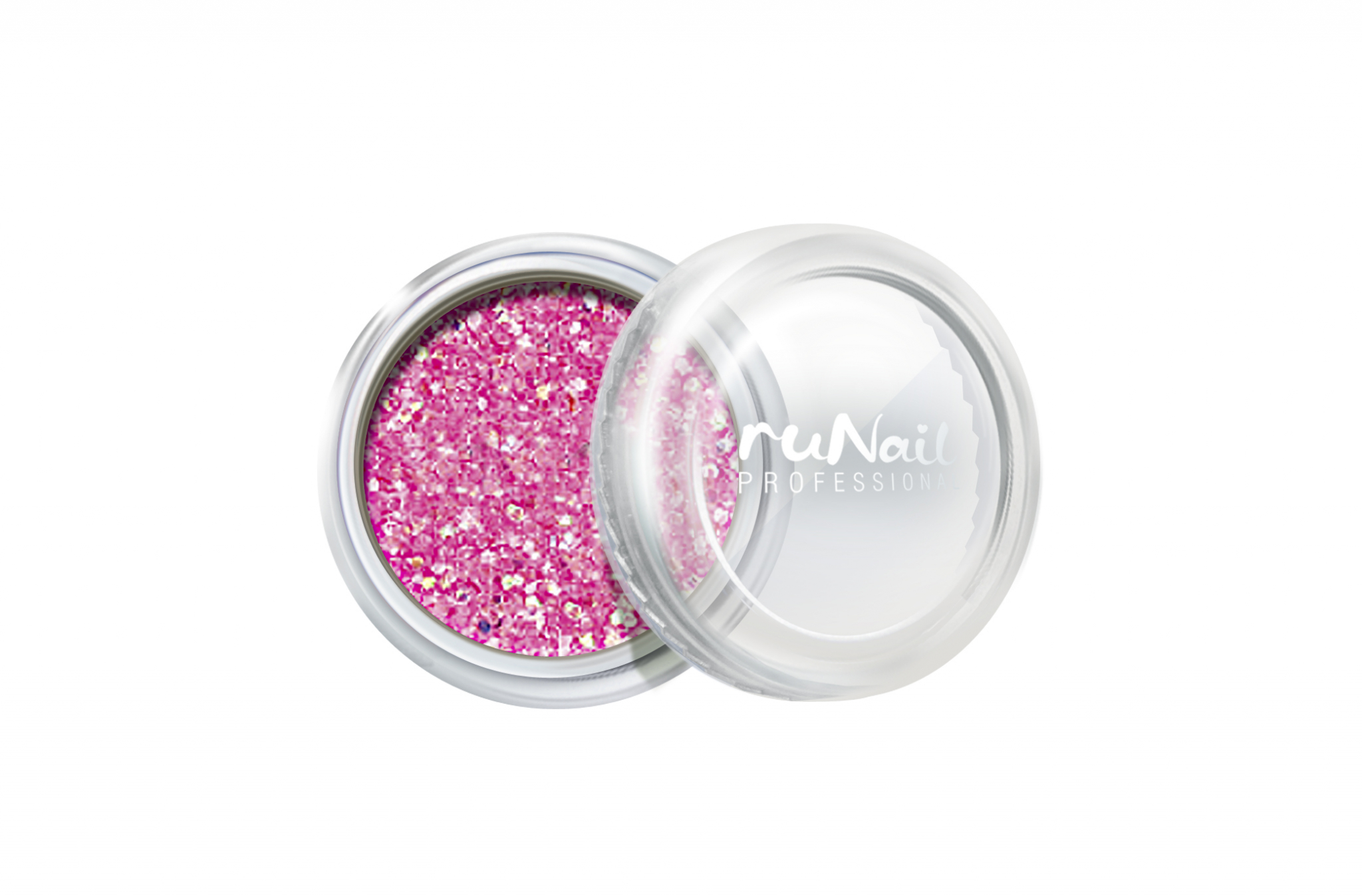Дизайн для ногтей: блестки (цвет: розовый металлик) № 0643