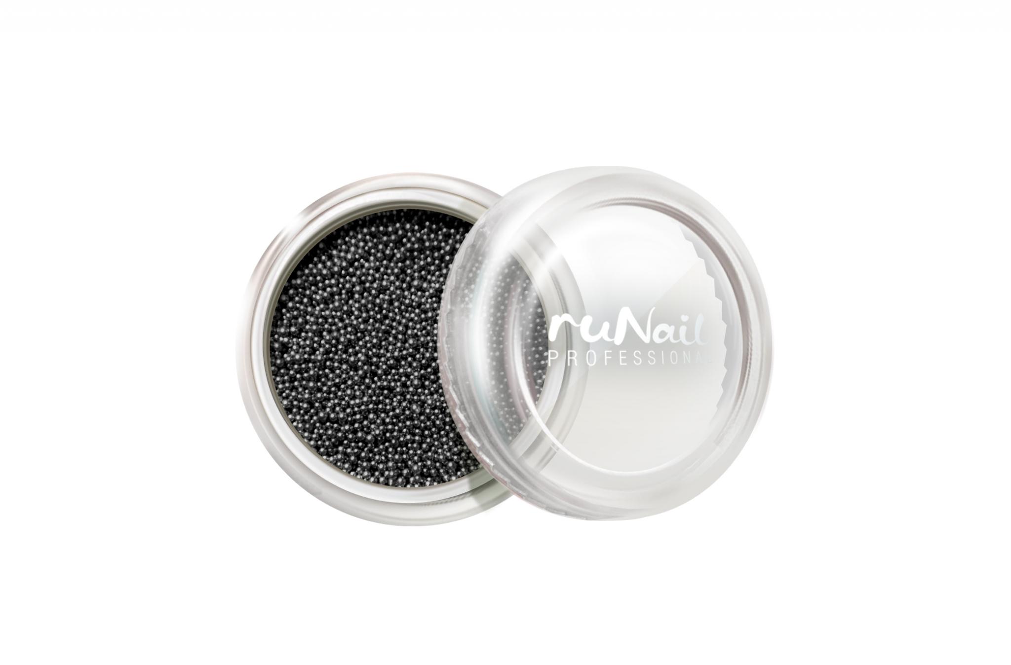 Дизайн для ногтей: бульонки (цвет: черный) № 0311