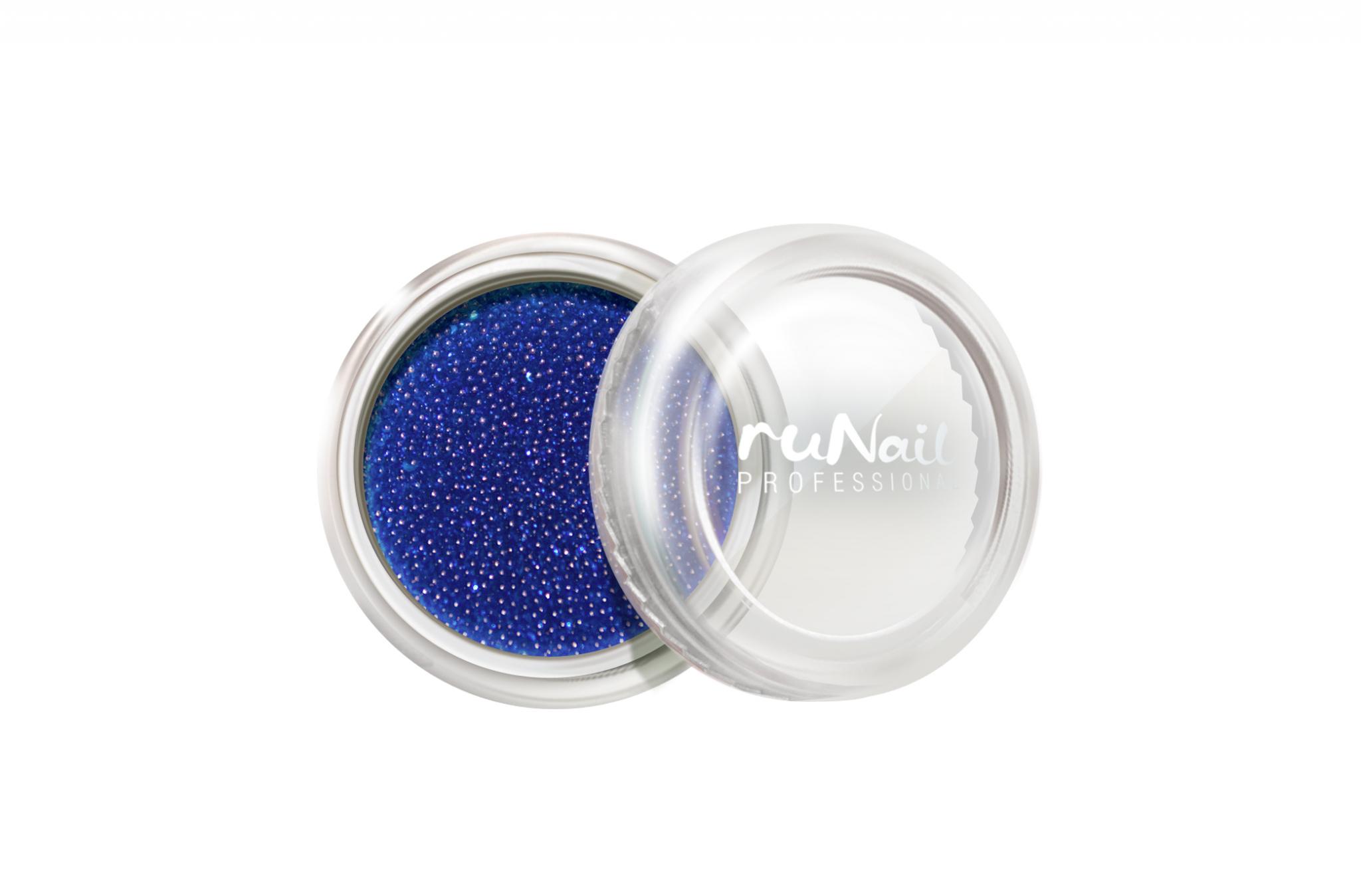 Дизайн для ногтей: бульонки (цвет: синий) № 0307