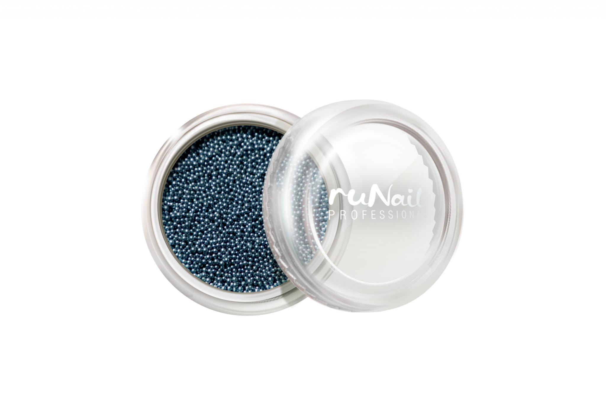Дизайн для ногтей: бульонки (цвет: ярко-голубой) № 0319