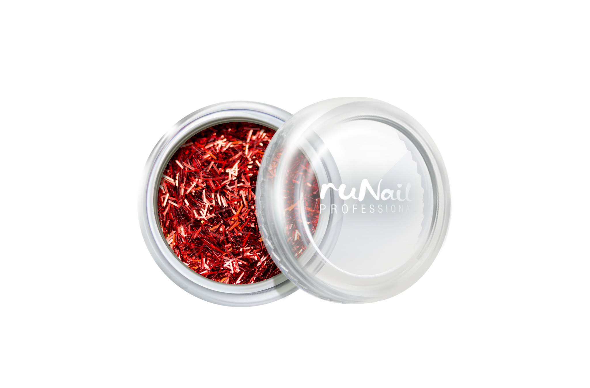 Дизайн для ногтей: стружка (цвет: красный) № 2006