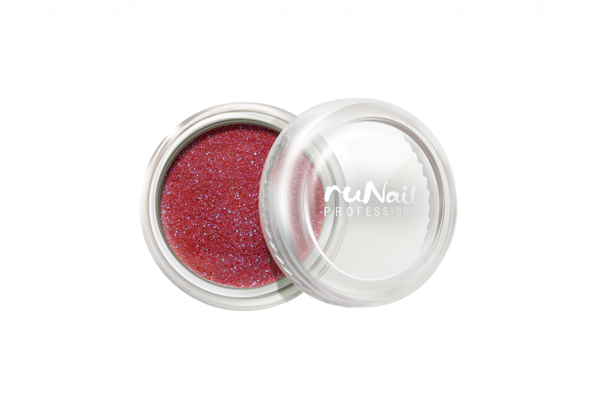 Дизайн для ногтей: пыль (цвет: красный) № 1180