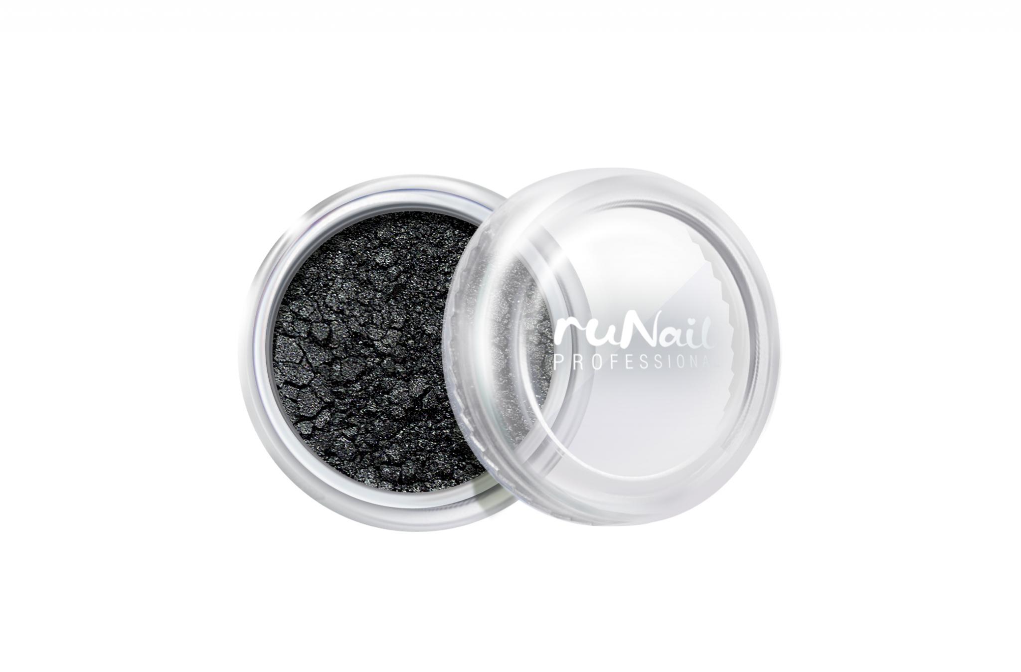 Дизайн для ногтей: пыль (цвет: черный, матовый) № 2007