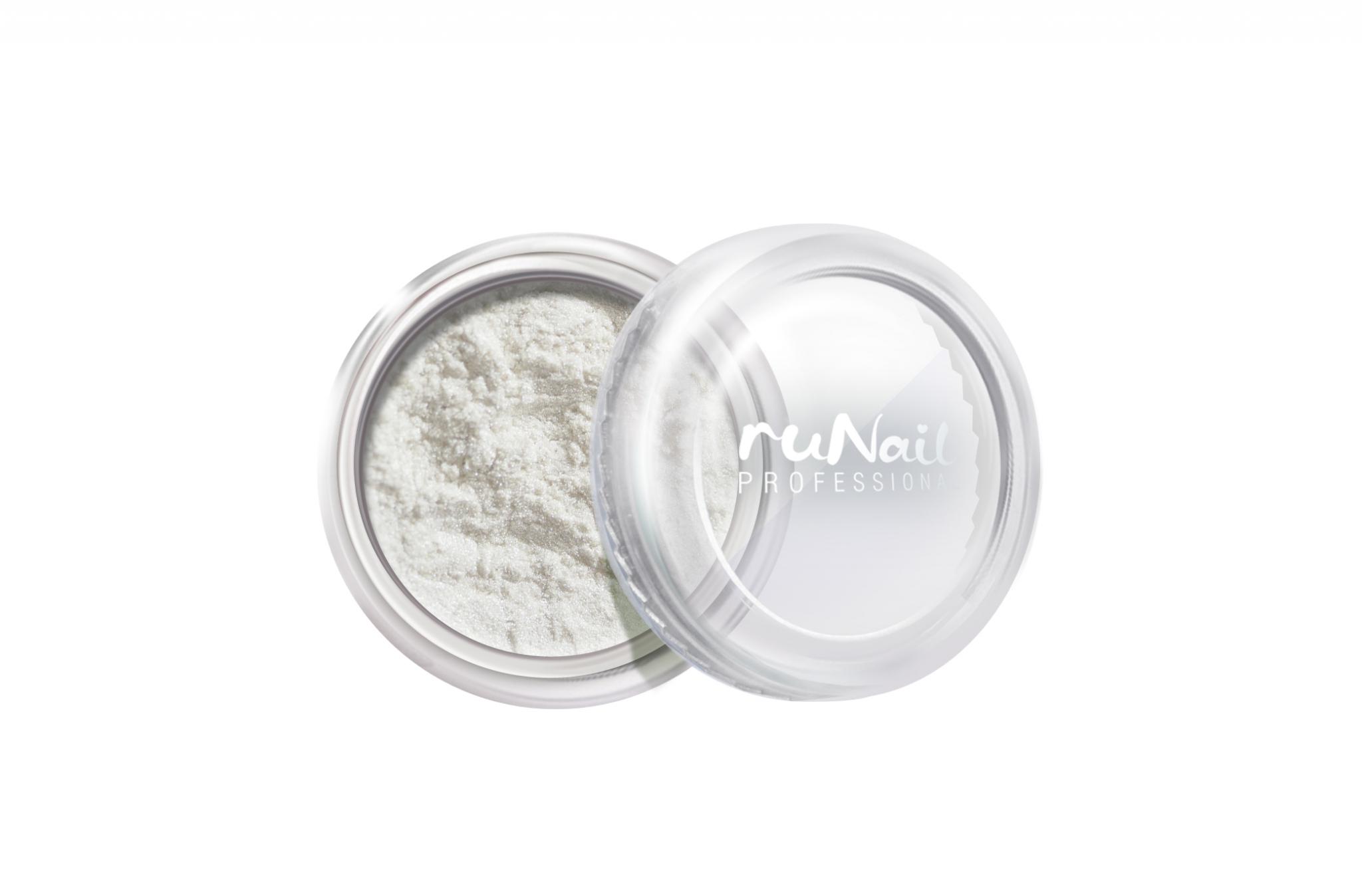 Дизайн для ногтей: пыль (цвет: белый, матовый) № 2008