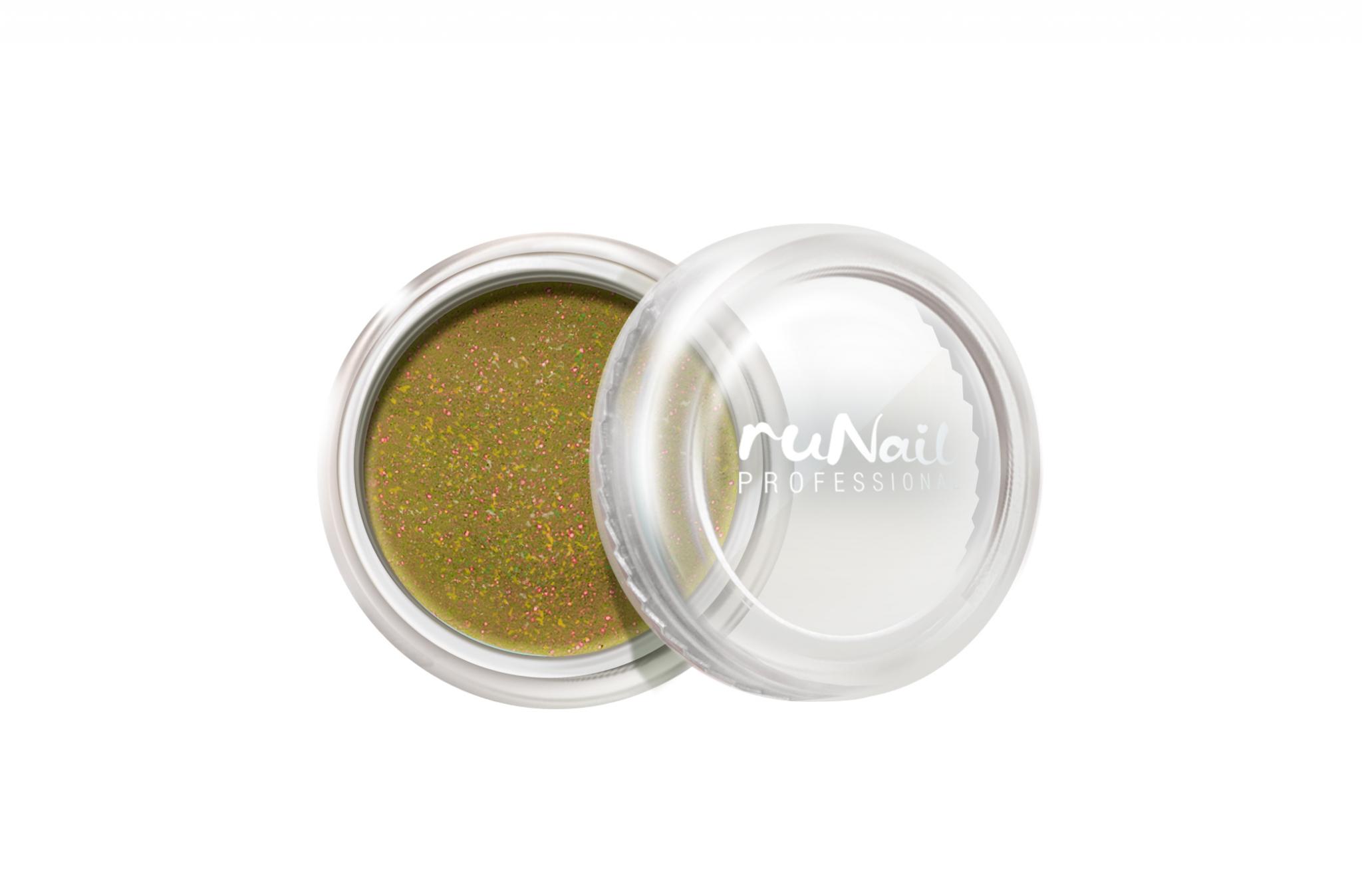 Дизайн для ногтей: пыль (цвет: золотой) № 1170