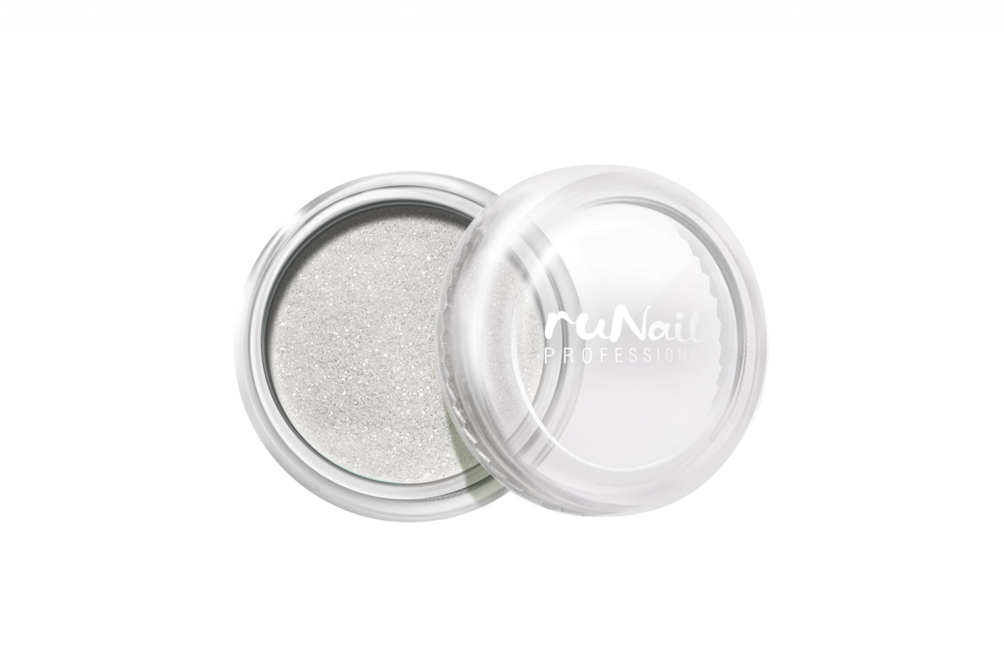 Дизайн для ногтей: пыль (цвет: белый) № 1169