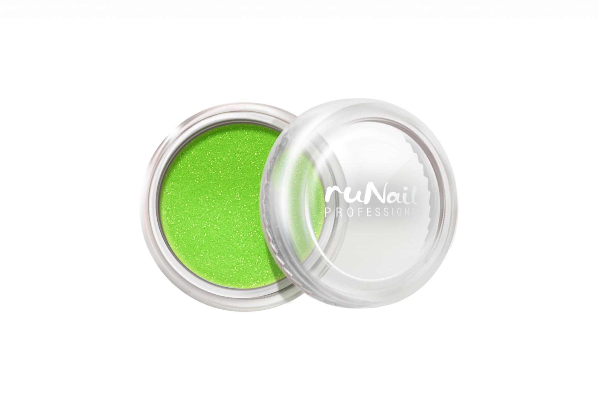 Дизайн для ногтей: пыль (цвет: светло-зеленый) № 1172