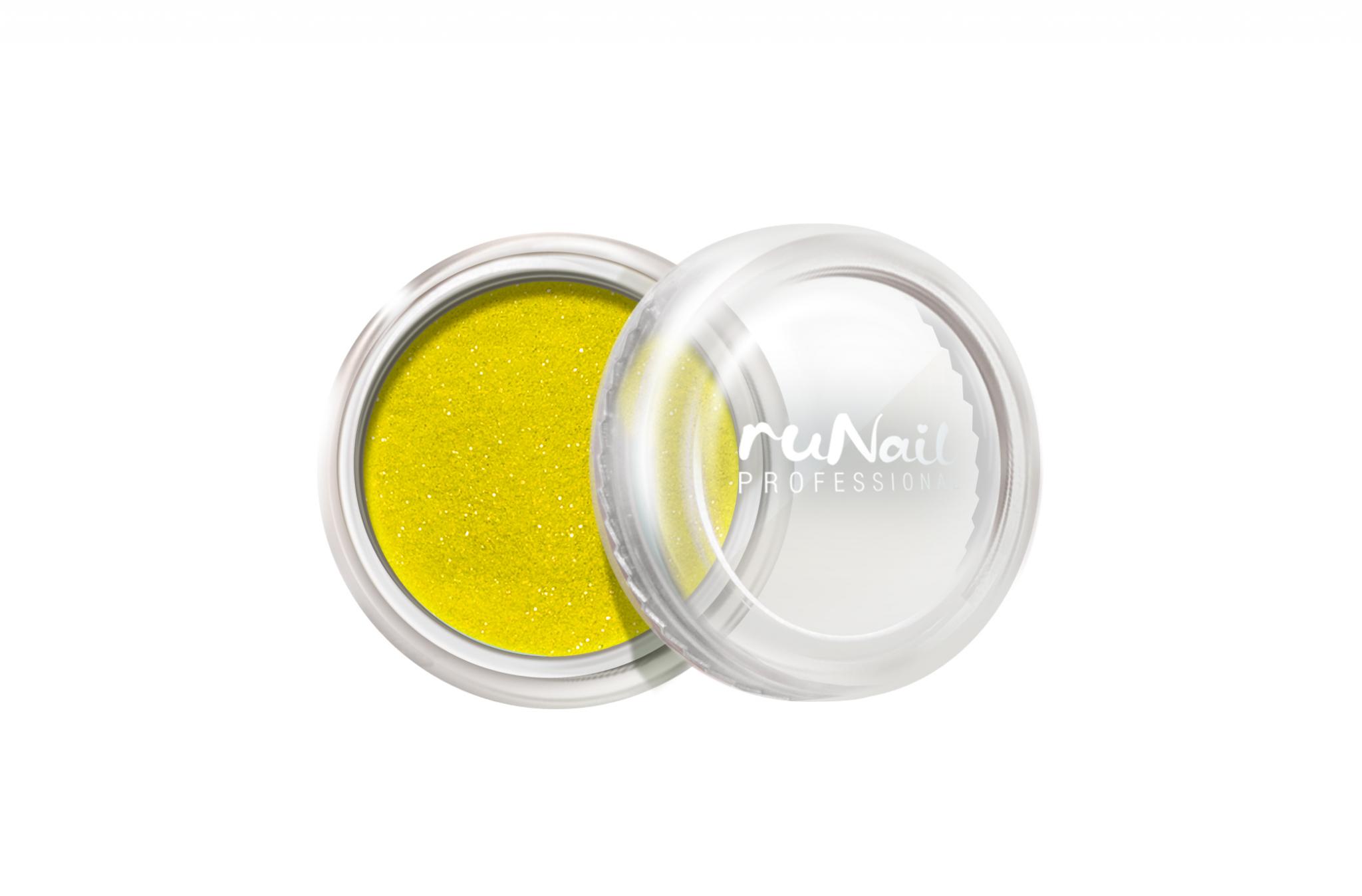 Дизайн для ногтей: пыль (цвет: желтый) № 1175