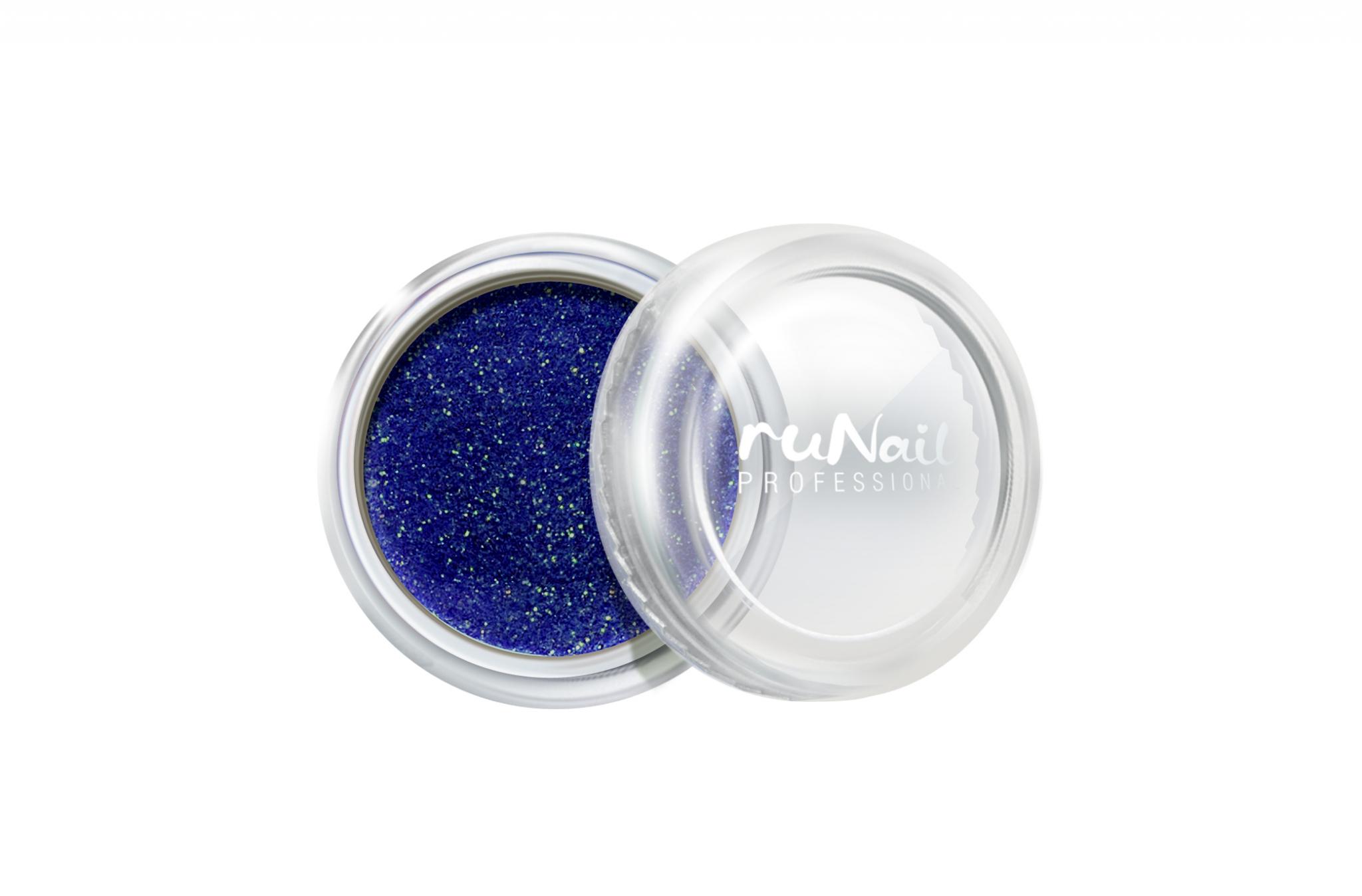 Дизайн для ногтей: пыль (цвет: синий) № 1177
