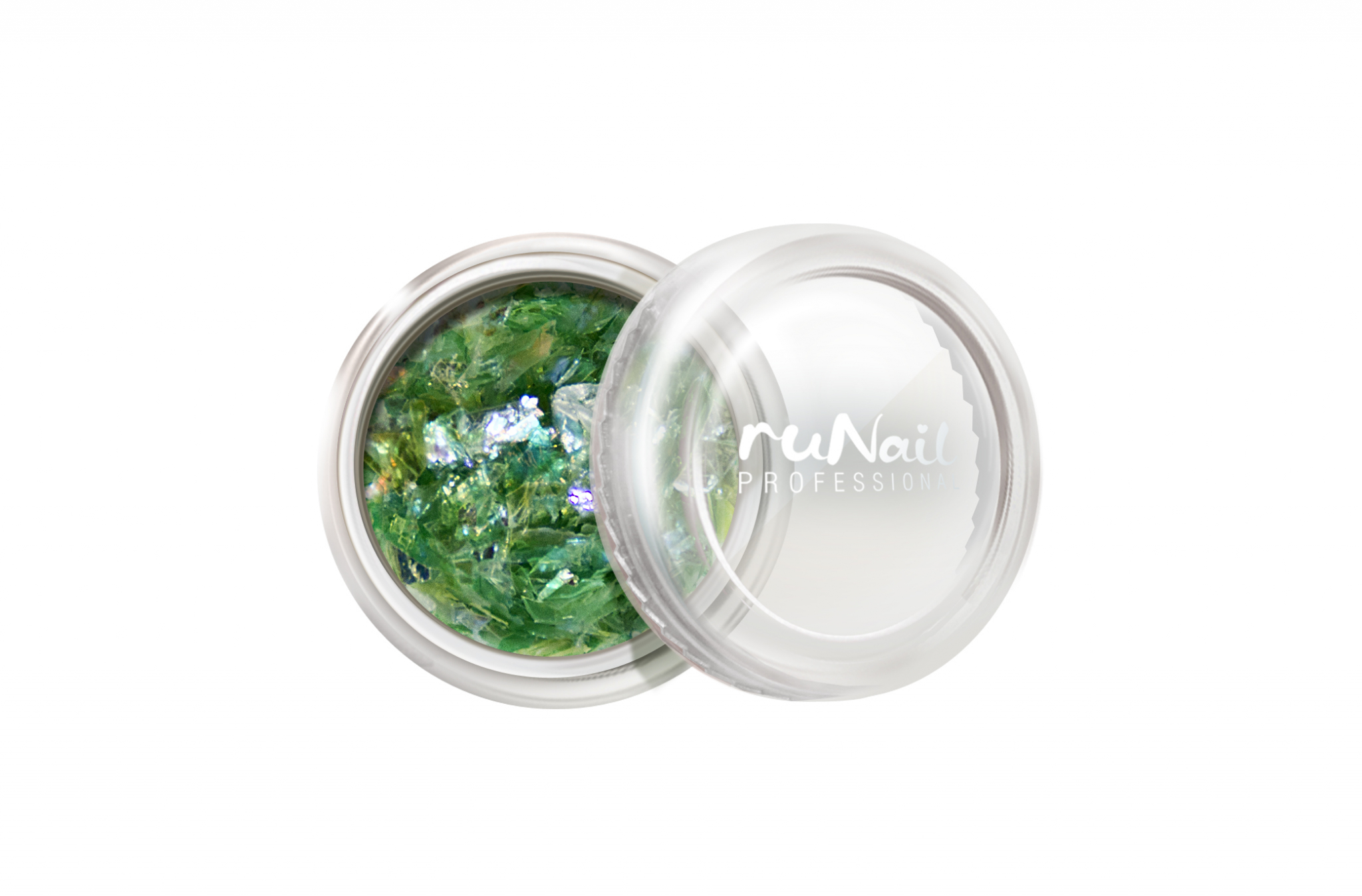 Дизайн для ногтей: слюда (цвет: светло-зеленый) № 0338