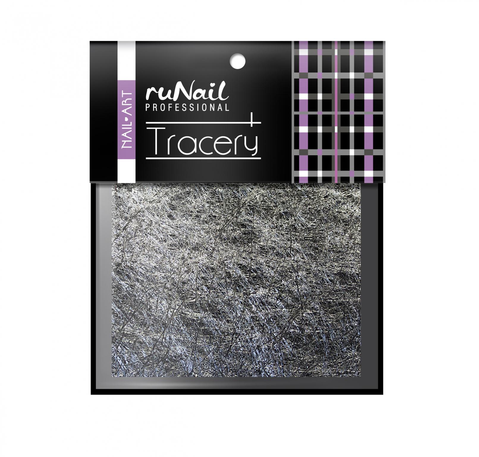 Дизайн для ногтей: паутинка (цвет: серебро) № 2015