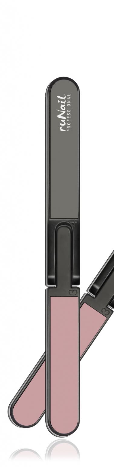 Профессиональная пилка для натуральных ногтей четырехсторонняя, 80/150/400/320 №0614