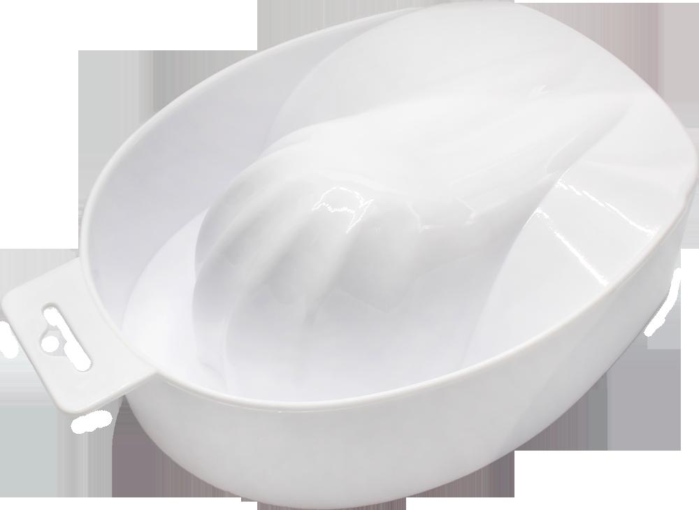 Ванночка для маникюра и снятия акрила (пластик) №0108-1