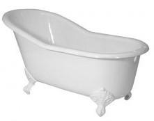 Чугунная ванна Magliezza Gracia 170x76 см (GRACIA WH)