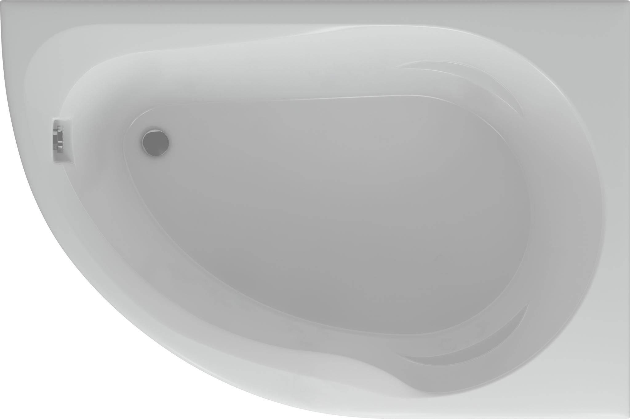 Акриловая ванна Aquatek Вирго 150x100 см (Вирго_DX)