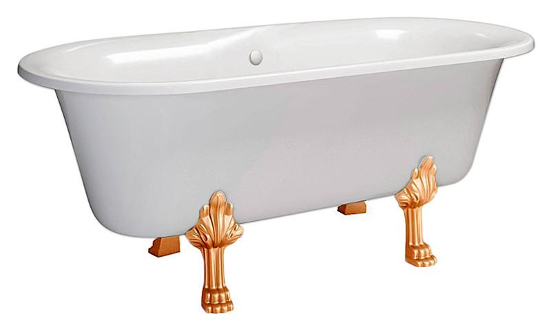 Ванна из литьевого мрамора Фэма  (ФЕРРАРА-BL)